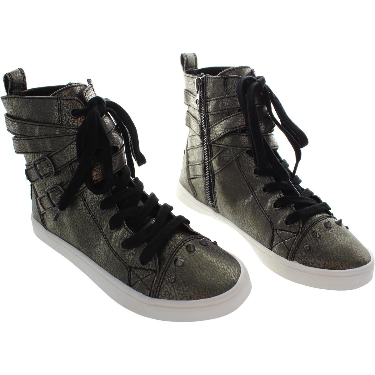 Rocket Dog Darts Rumbled Women's Shoes (high-top Trainers) In Silver in Metallic