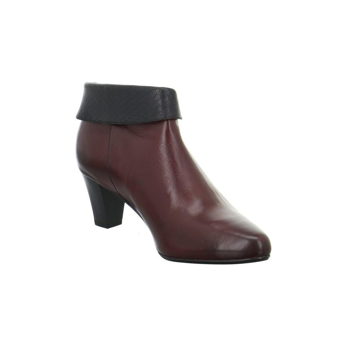Gerry Weber Lena 01 Women's Low Ankle Boots In Red