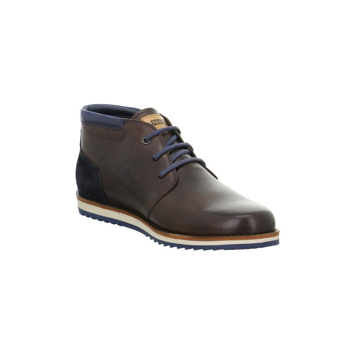 pikolinos m5a8085olmonautic s mid boots in brown in