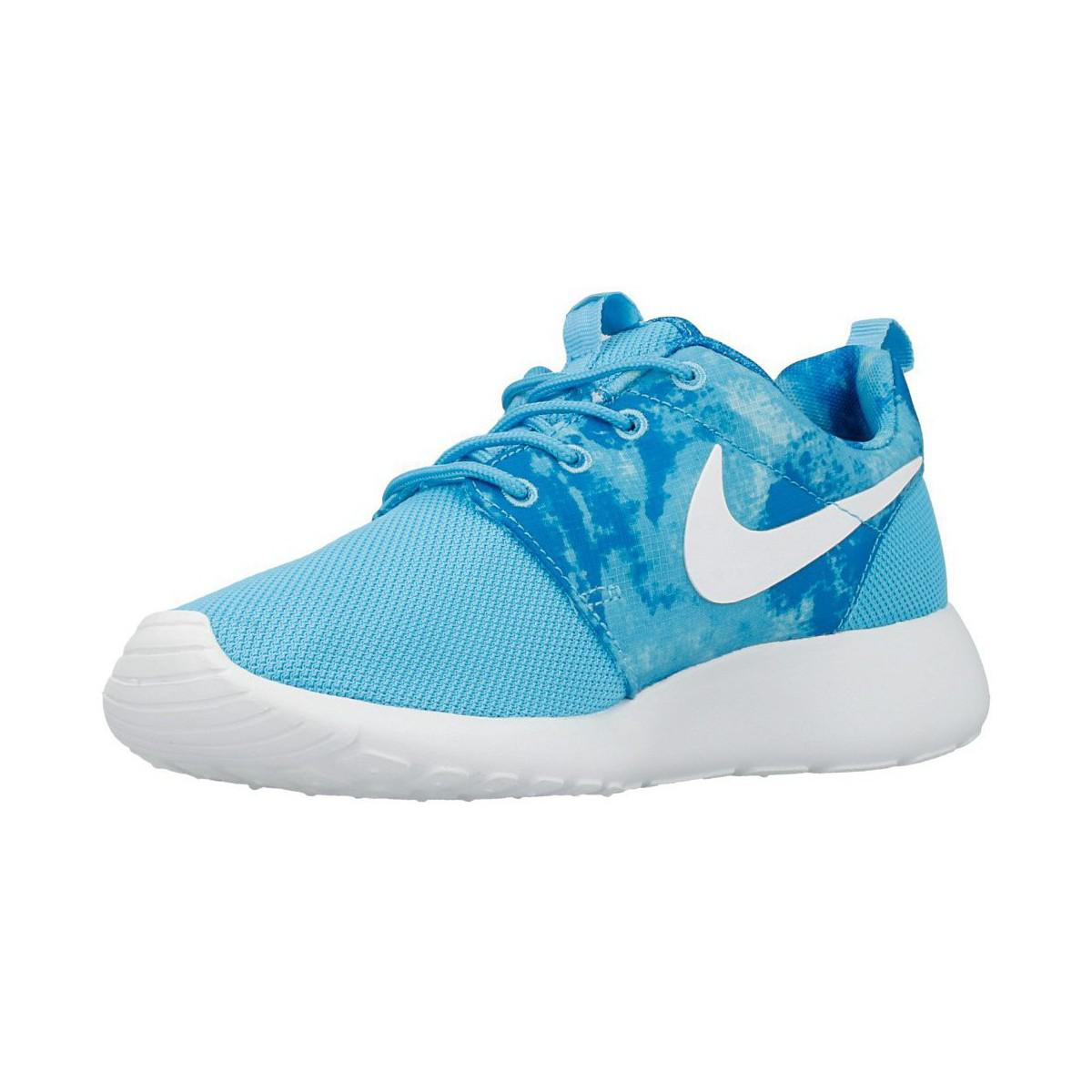 Nike Wmns Roshe One Prin Women's Shoes (trainers) In Blue