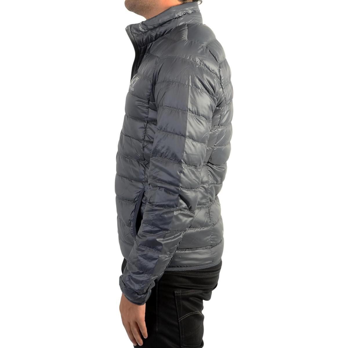 Ea7 8npb01 Men's Anthracite 1994 Jacket In Down Pn29z Grey AZxw1zA