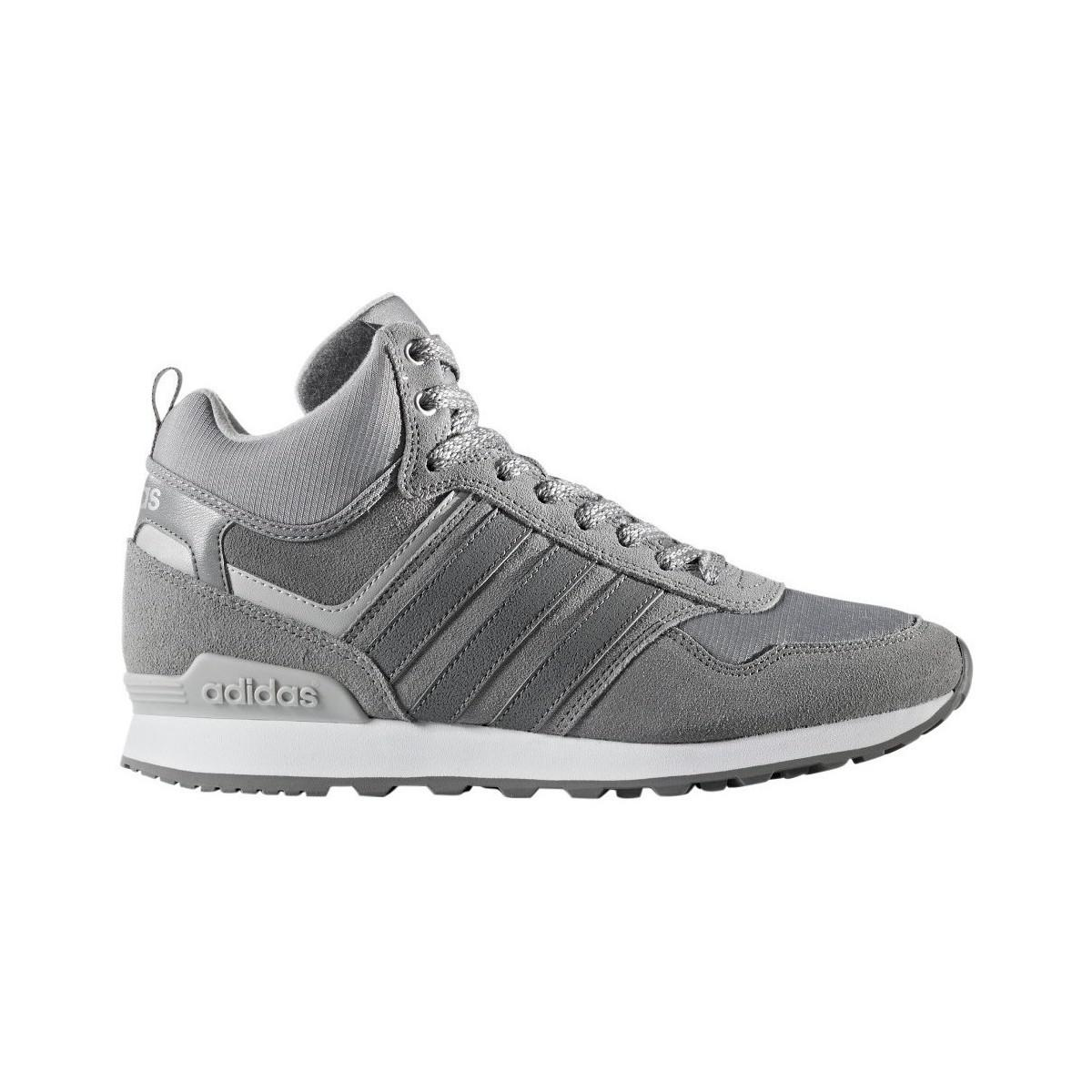 adidas 10xt Wtr Mid Men's Shoes (trainers) In Grey in Grey for Men