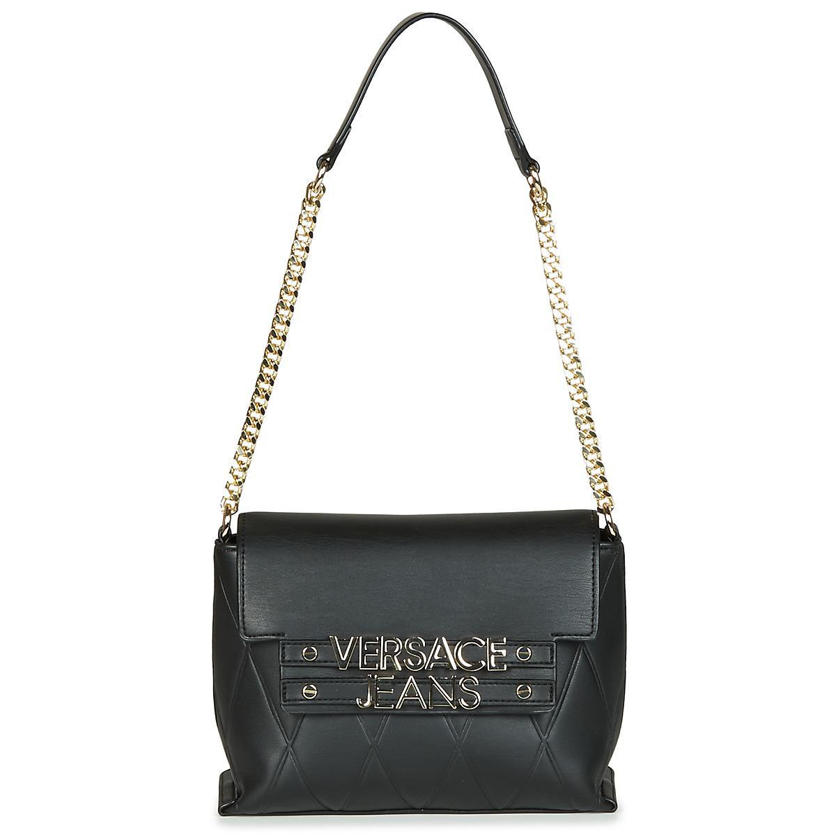 Versace Jeans Purace Women s Shoulder Bag In Black in Black for Men ... e7e054f5344aa