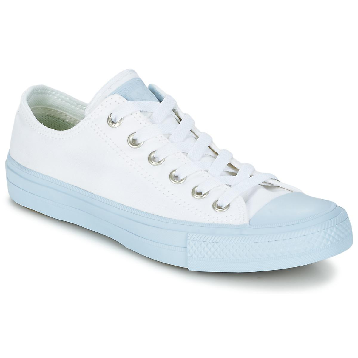 Converse Chuck Taylor All Star Ii Pastel Midsoles Ox Shoes (trainers) in Blue