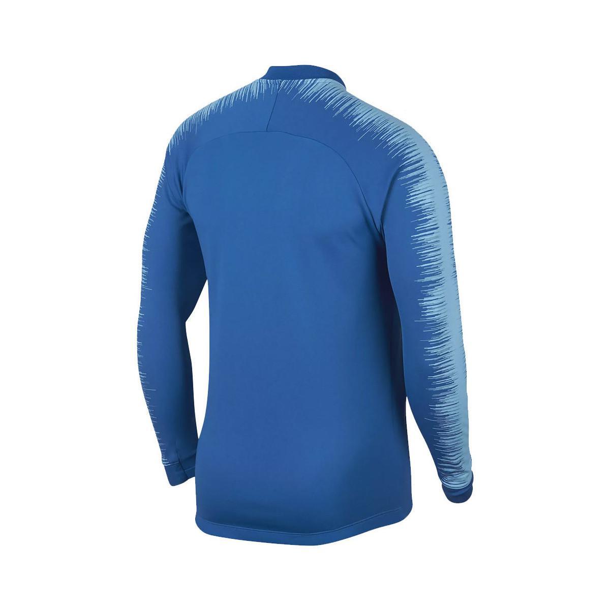 Nike 2018-2019 Slovenia Anthem Jacket Men's In Blue for Men