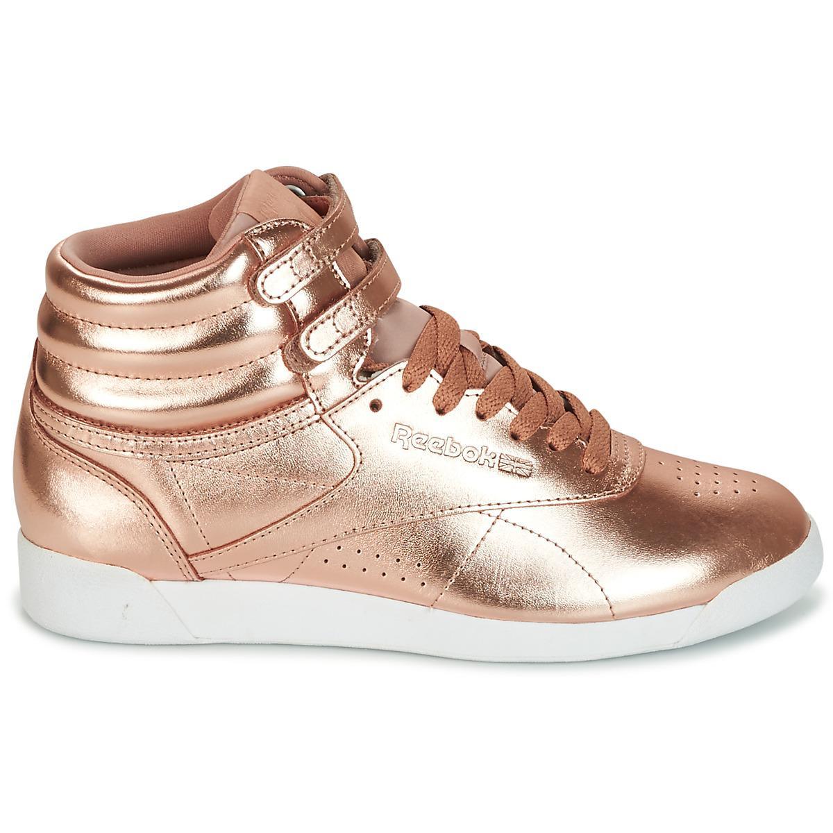 Reebok - F s Hi Metallic Women s Shoes (high-top Trainers) In. View  fullscreen 6c43a2453