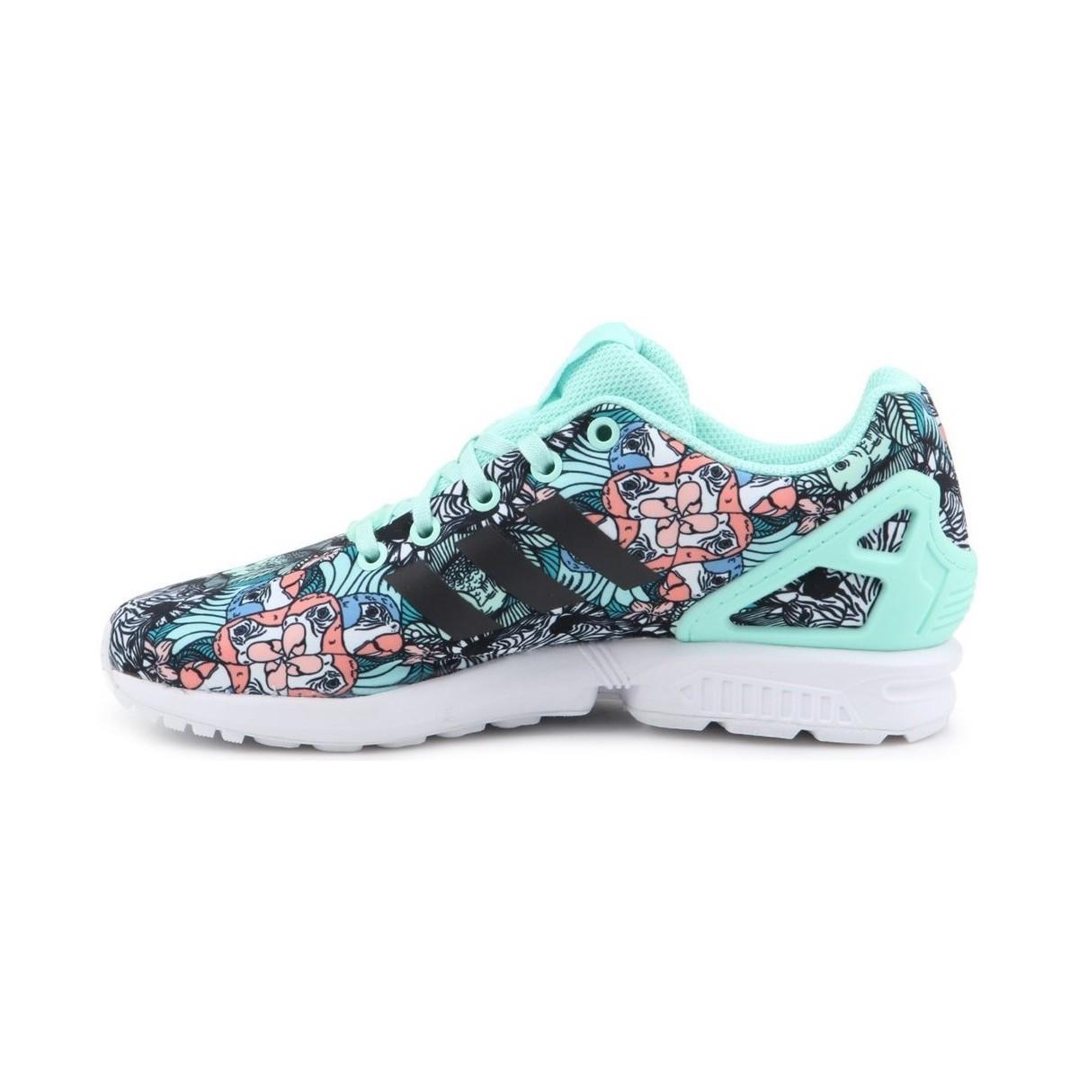 ZX Flux J Chaussures adidas en coloris Bleu
