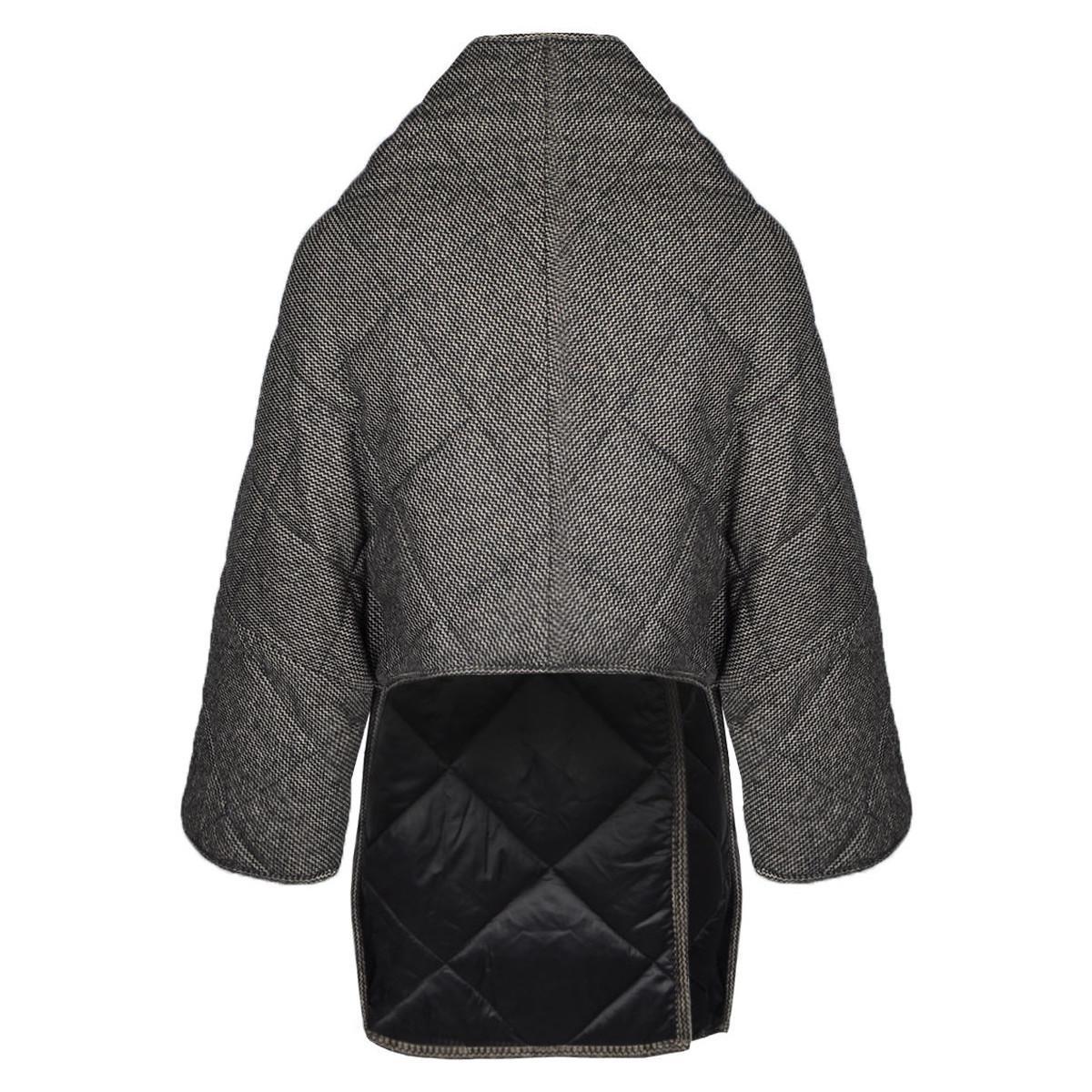 - femmes Manteau en Noir Patrizia Pepe en coloris Noir - 39 % de réduction QSCTJ