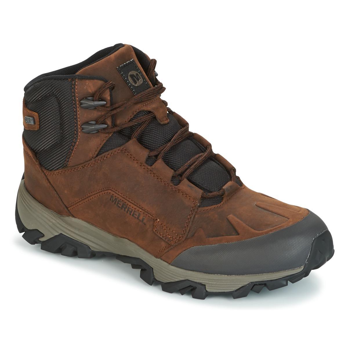 COLDPACK ICE MID WTPF hommes Chaussures en Marron Cuir Merrell pour homme en coloris Marron - 20 % de réduction