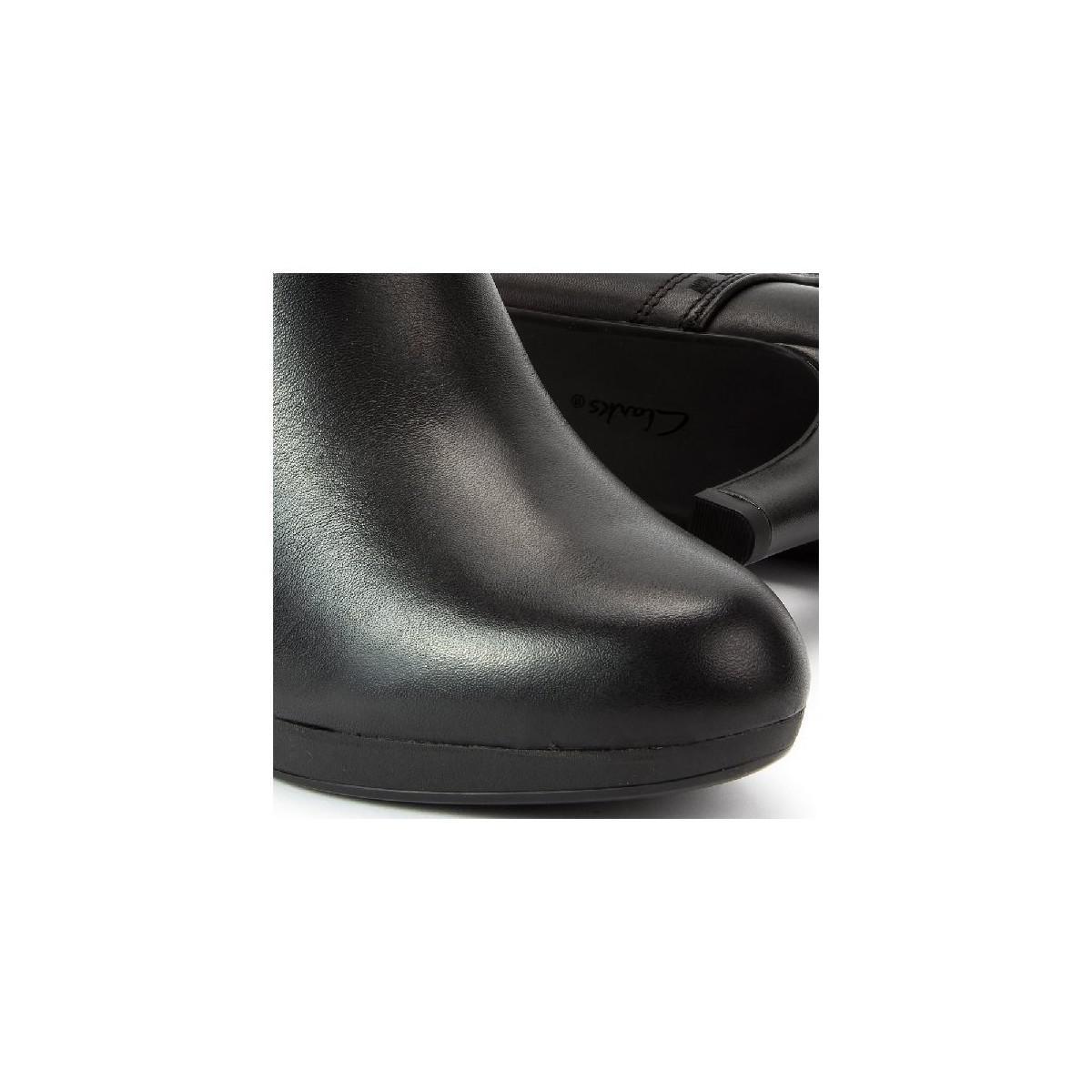ee13add35d Clarks Adriel Sadie Women's Low Ankle Boots In Multicolour in Black ...