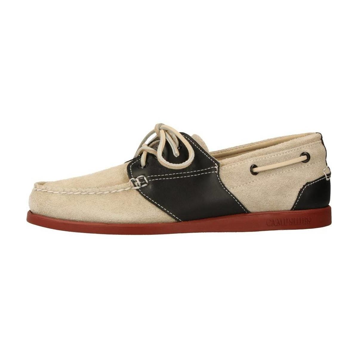 Sebago 71301s Men's Loafers / Casual Shoes In Red for Men