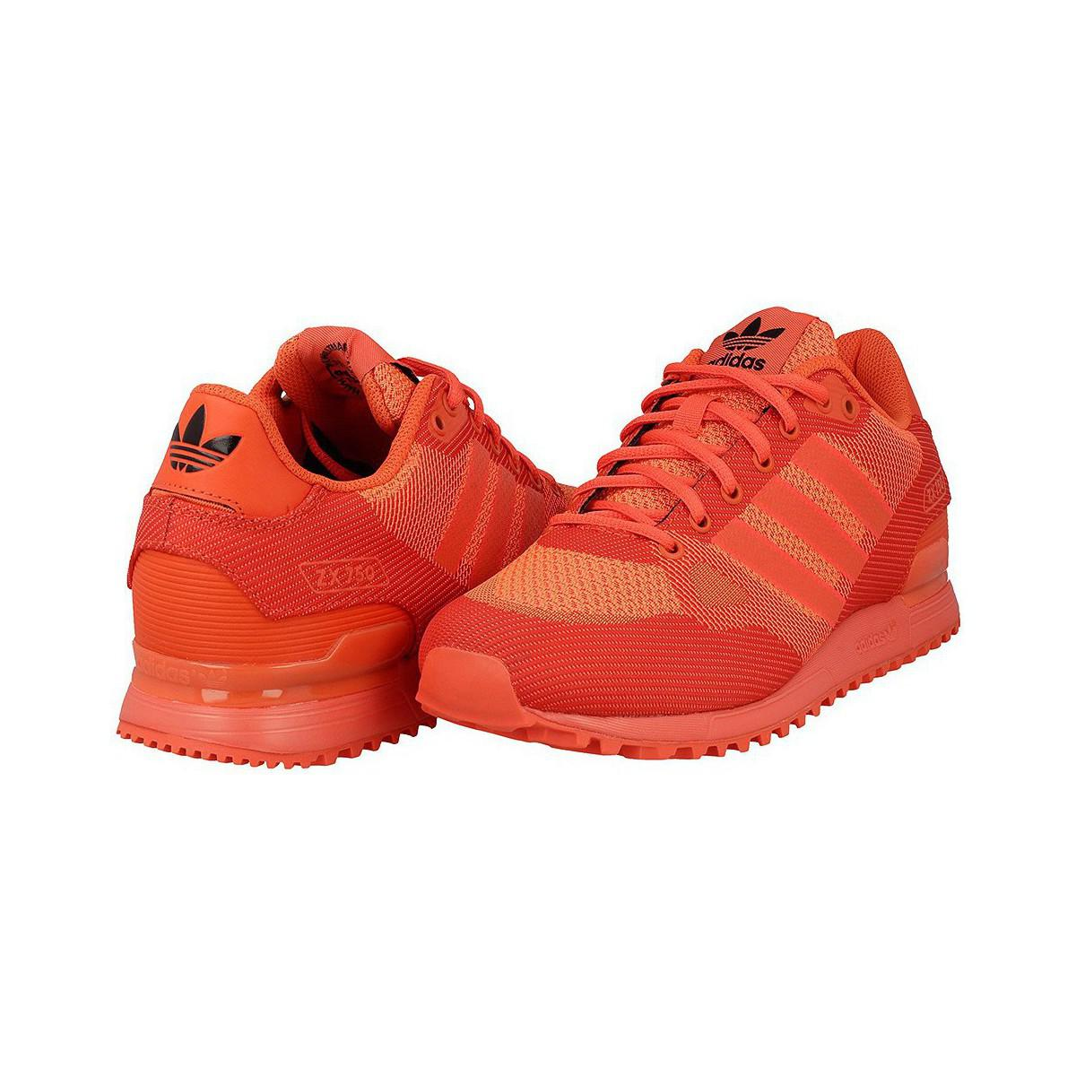 adidas Zx 750 Wv Men's Shoes (trainers) In Red for Men