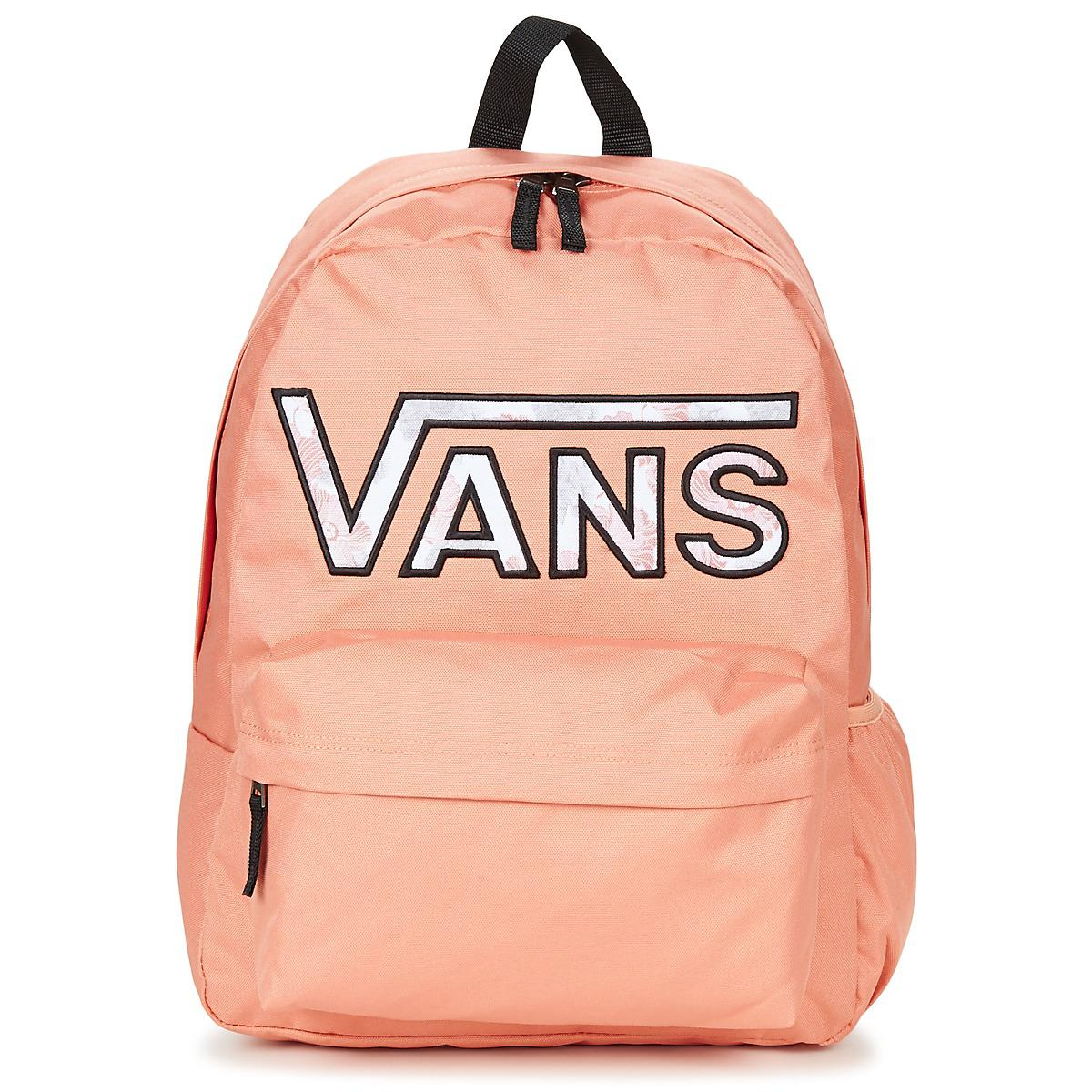 7eadb622 Vans Synthetic Realm Flying V Backpack Women's Backpack In Pink - Lyst