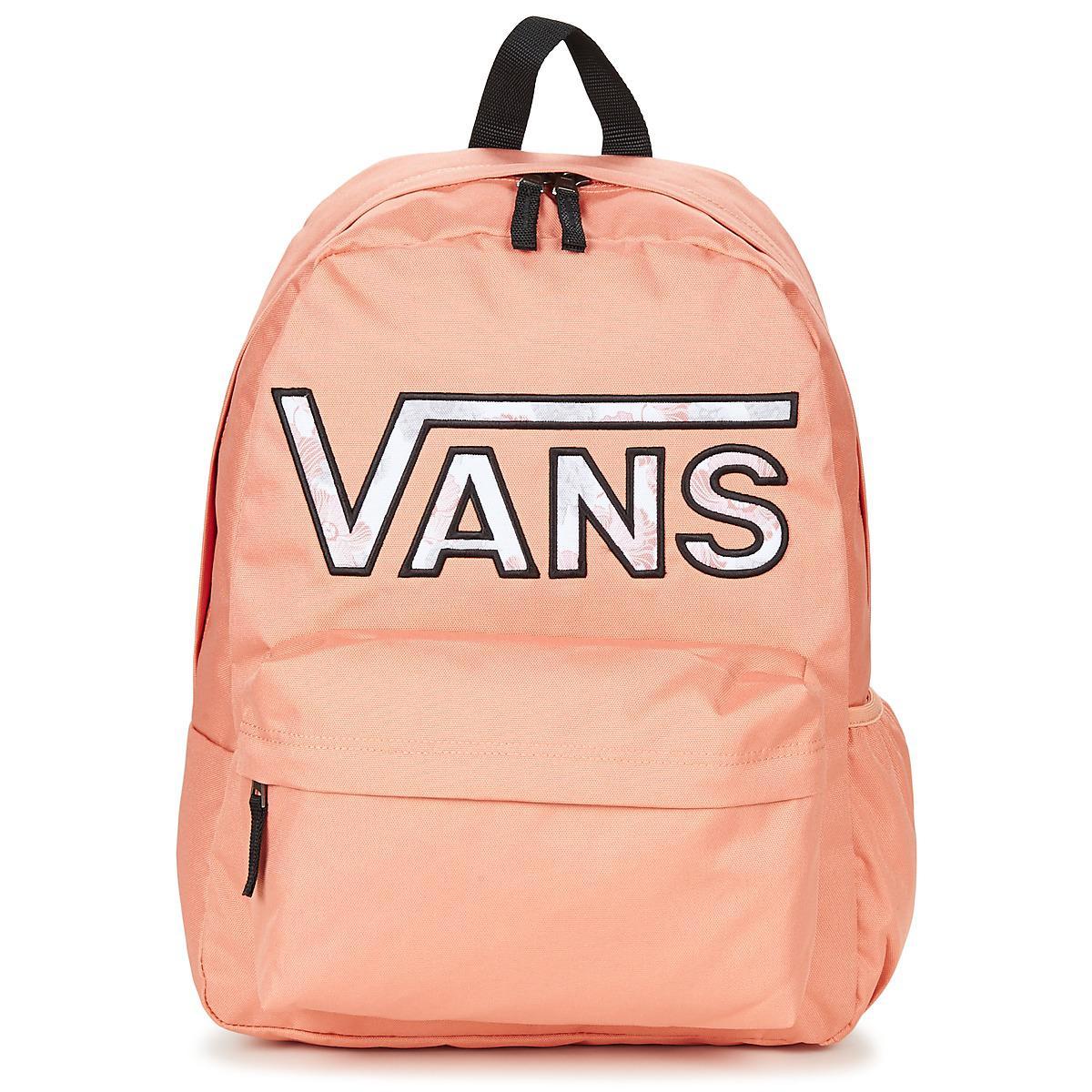 024886407ddc4 Vans Realm Flying V Backpack Women s Backpack In Pink in Pink - Lyst