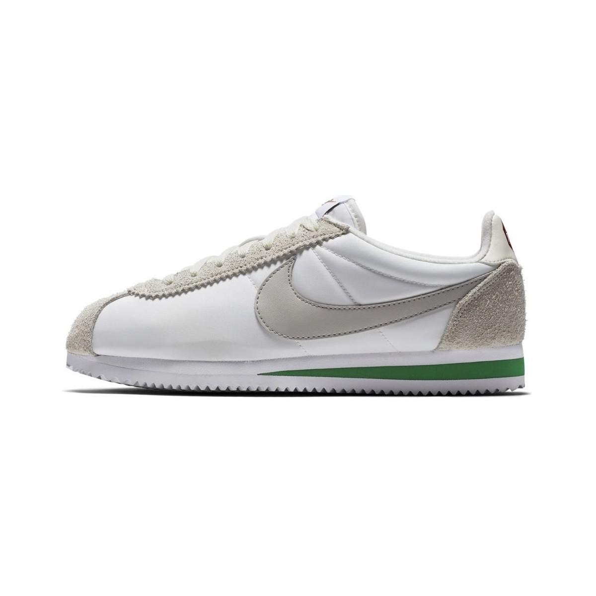 In Nylon Cortez Shoes trainers Men's White Classic Nike Prem EnTB0Rwxq1