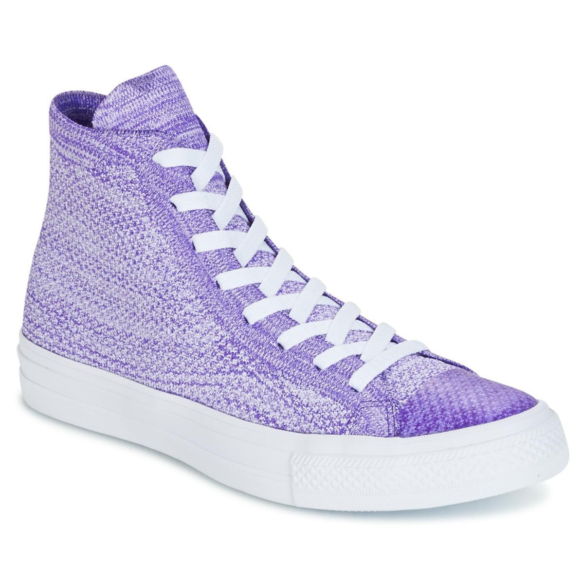 quality design 85d3a e6ea2 ... discount code for converse. mens purple chuck taylor all star nike  flyknit 3e4b2 cc2c9