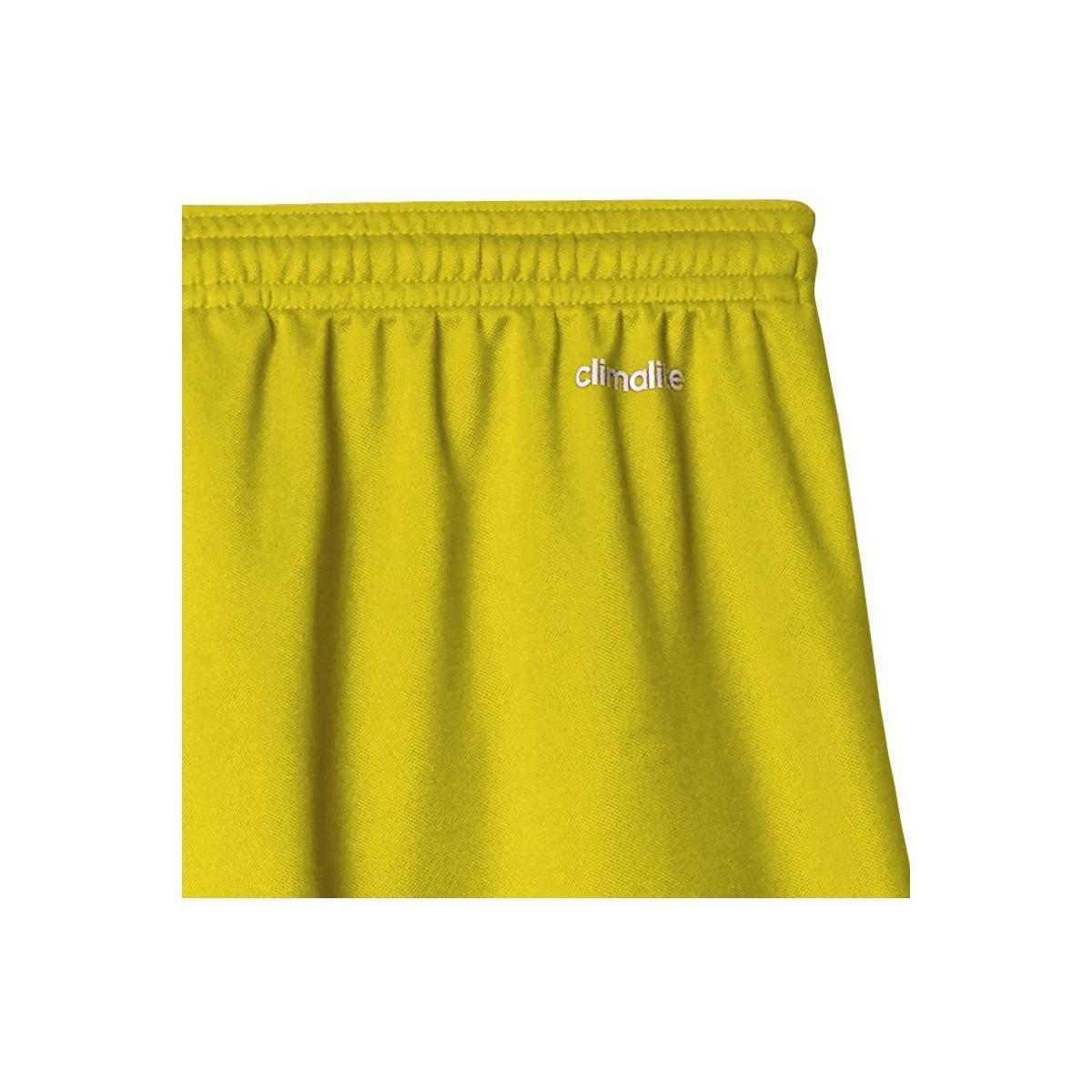 adidas Broek Parma 16 Short in het Geel voor heren - Bespaar 5%