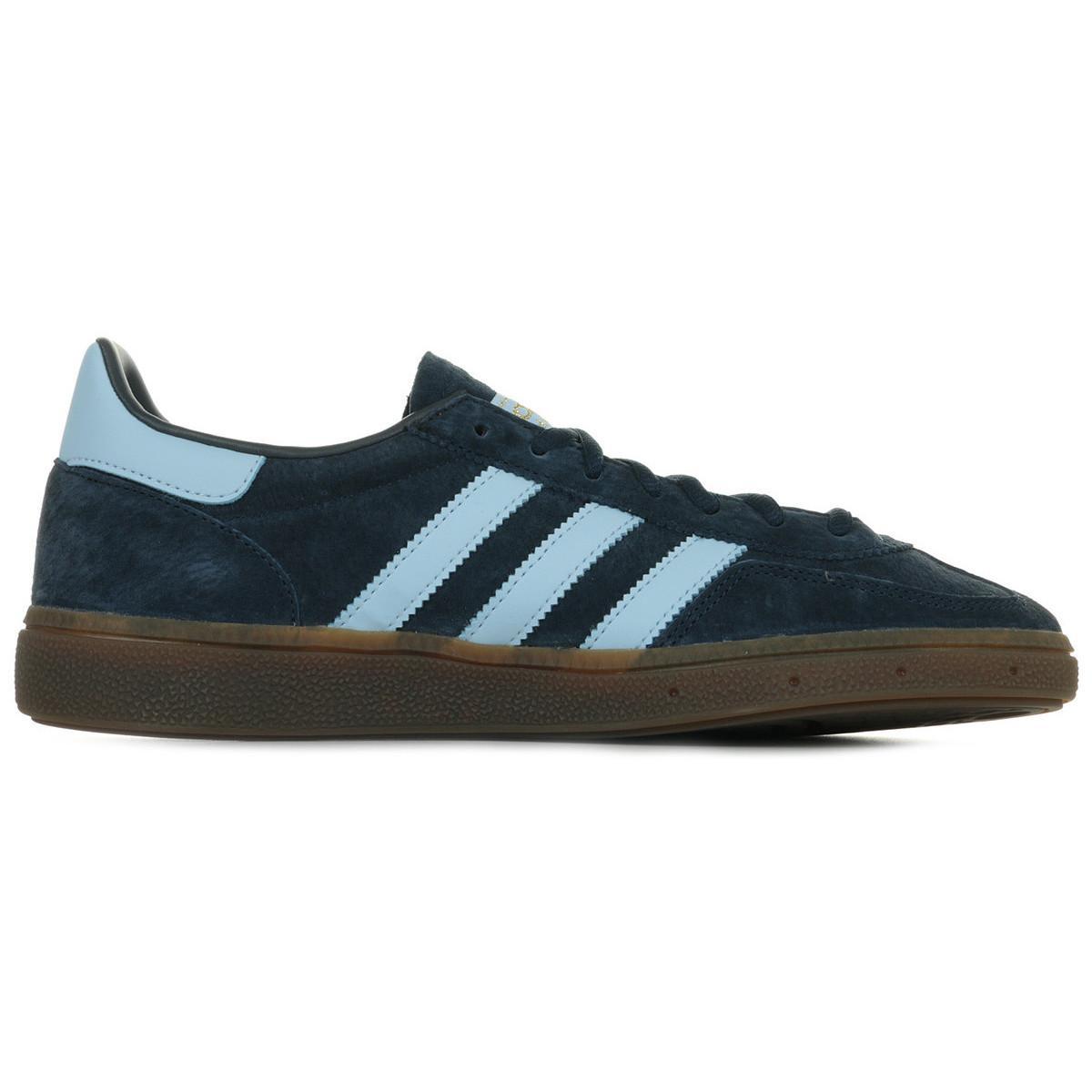 adidas Lage Sneakers Handball Spezial in het Blauw voor heren