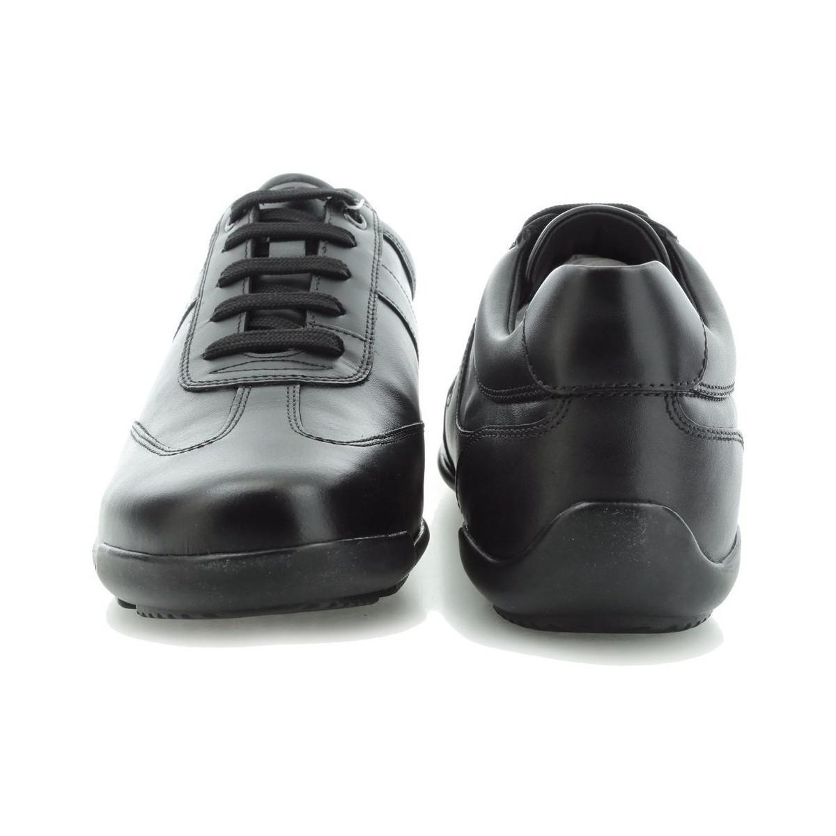 Geox Pół Edgware U743bb 043bc C9999 Men's Shoes (trainers) In Multicolour in Black for Men