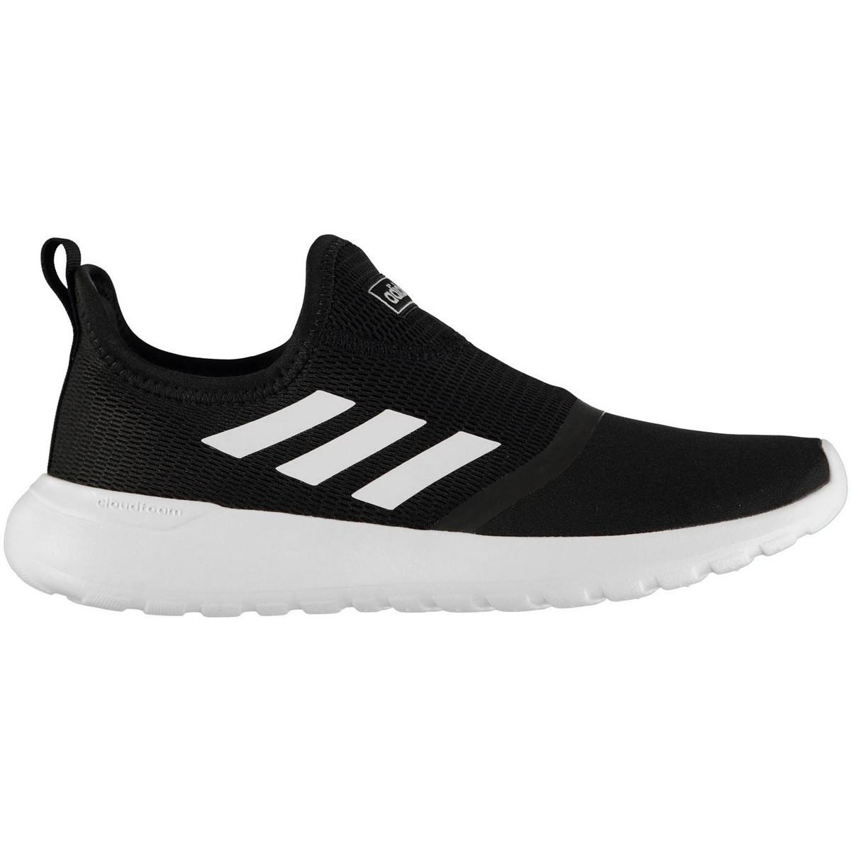 elegant shoes 100% authentic promo codes adidas Synthetic Lt Racer Slip Men's Running Trainers In Black for ...