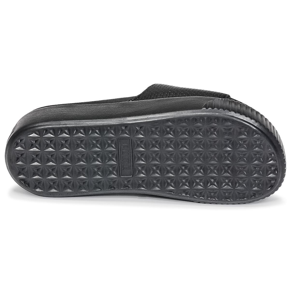 2c239de1e5d PUMA - Platform Slide Wns Ep Women s Mules   Casual Shoes In Black - Lyst.  View fullscreen