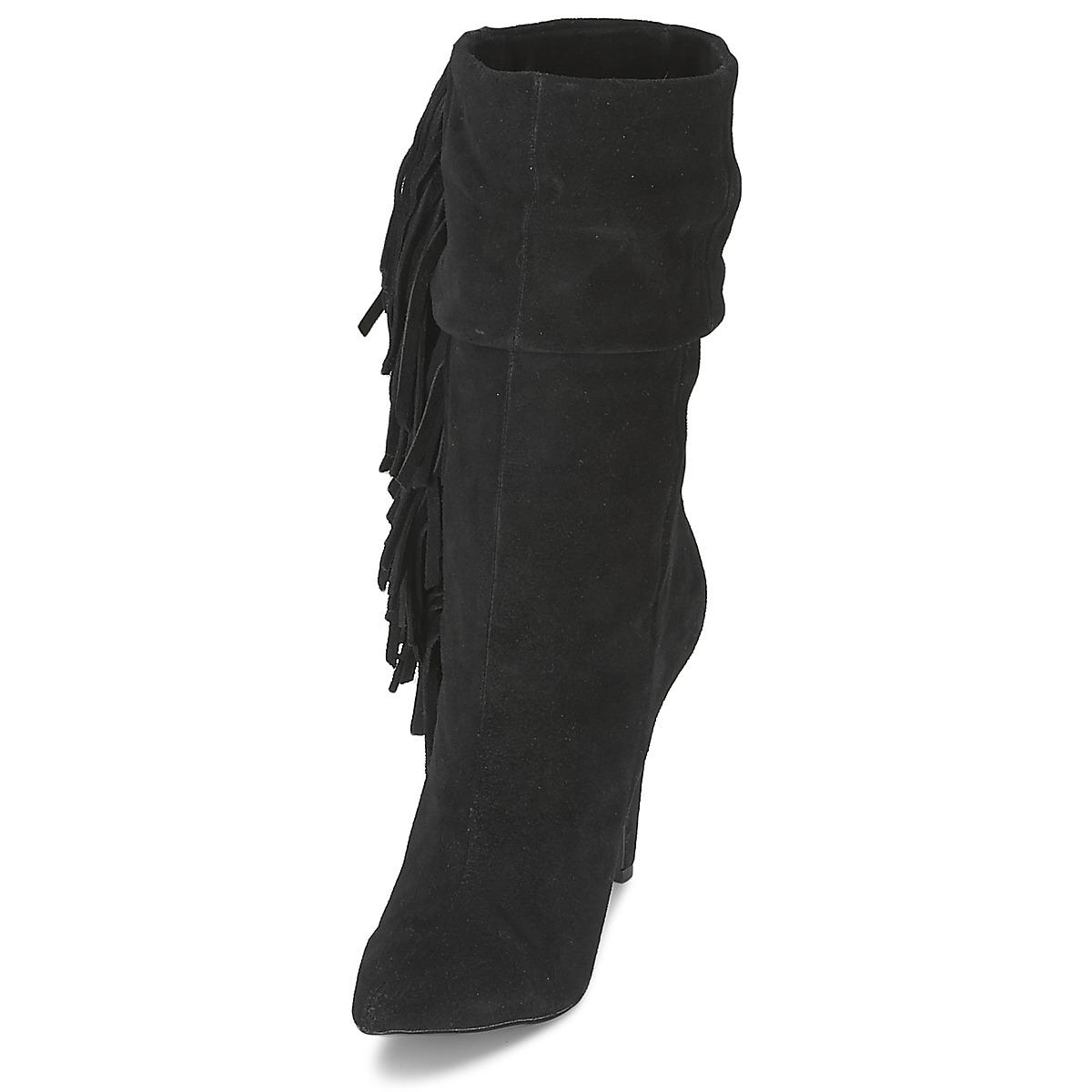 ALDO Leather Cireven Women's Low Ankle Boots In Black