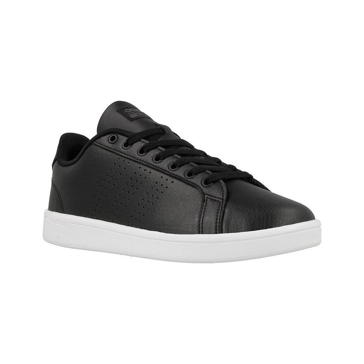 lyst adidas cloudfoam vantaggio pulito scarpe da uomo (allenatori)