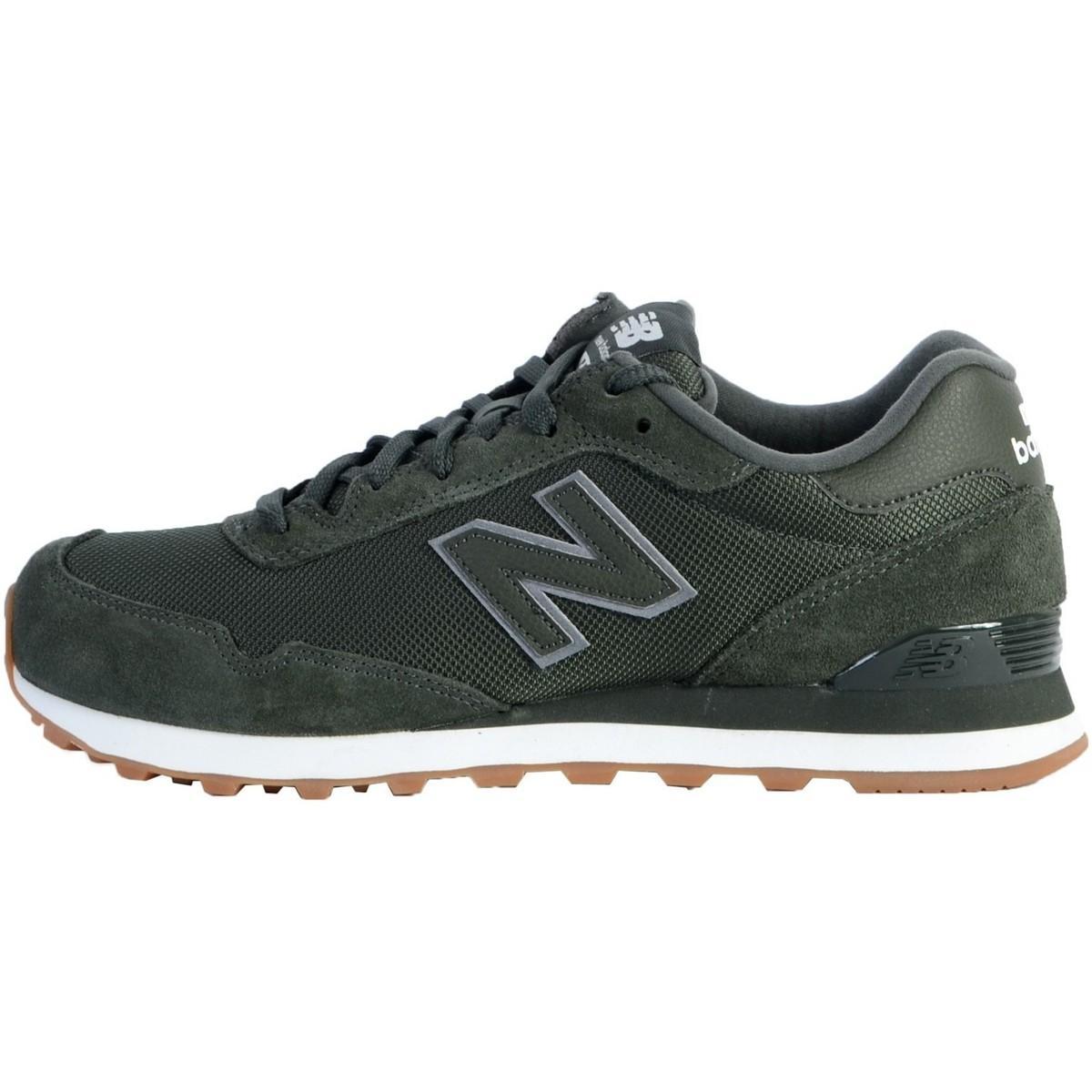 Basket ML515 Chaussures New Balance pour homme en coloris Vert - Lyst