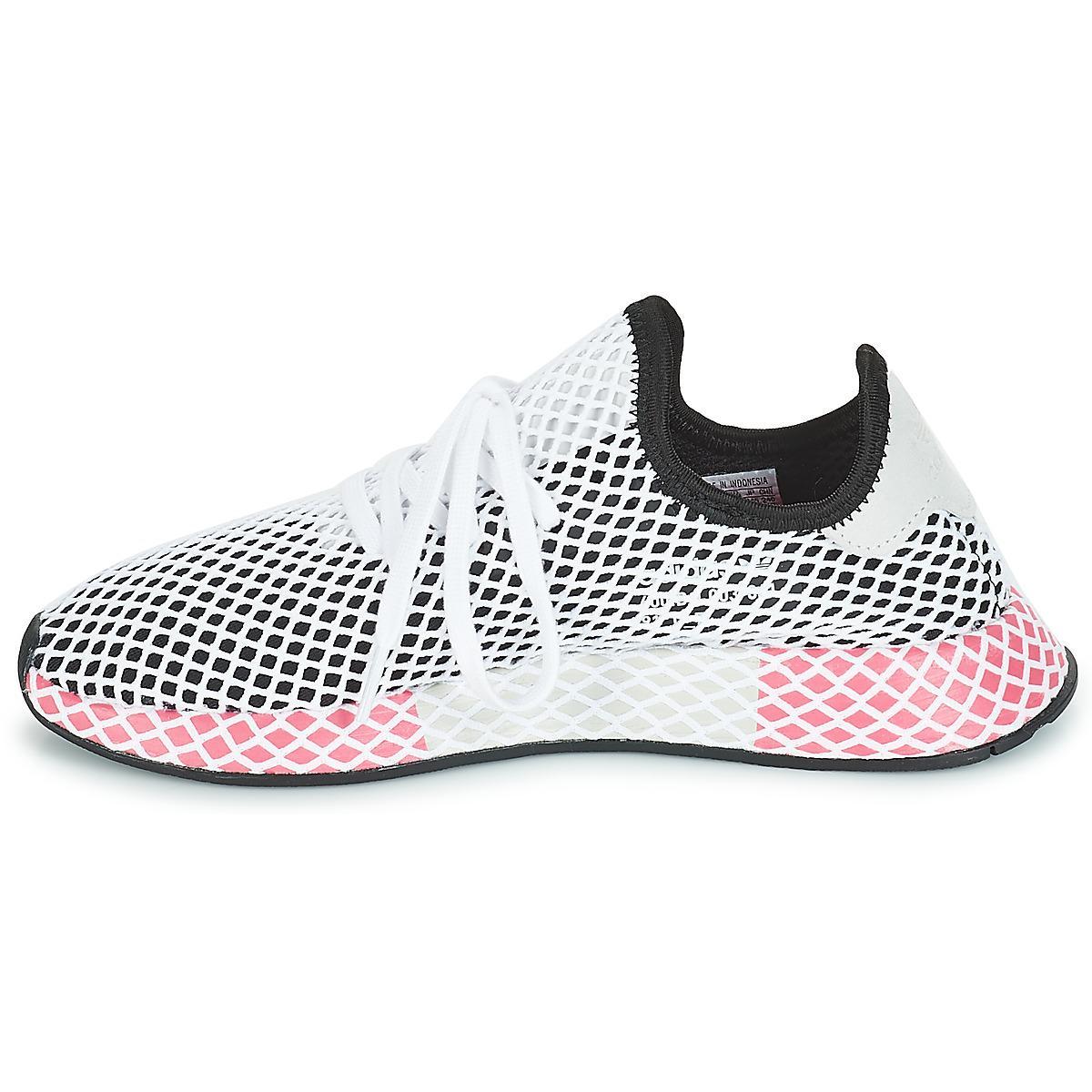 adidas Neoprene Deerupt Runner Originals Running Shoe in Black