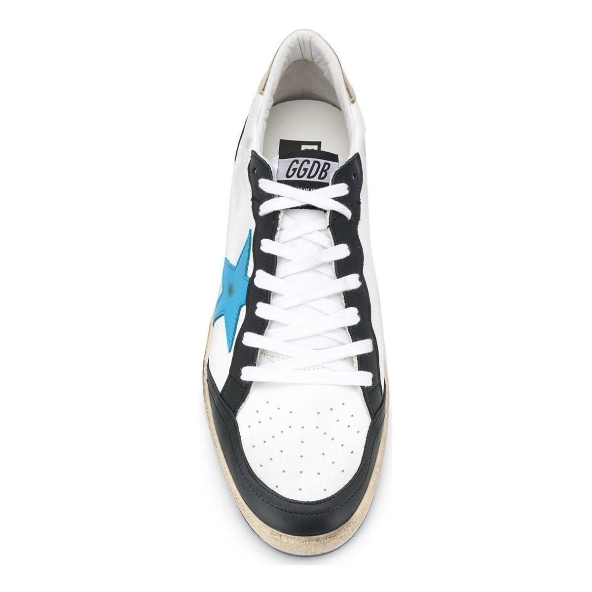 BASKETS HOMME Chaussures Plumes d'oie Golden Goose Deluxe Brand pour homme en coloris Blanc Ft3M