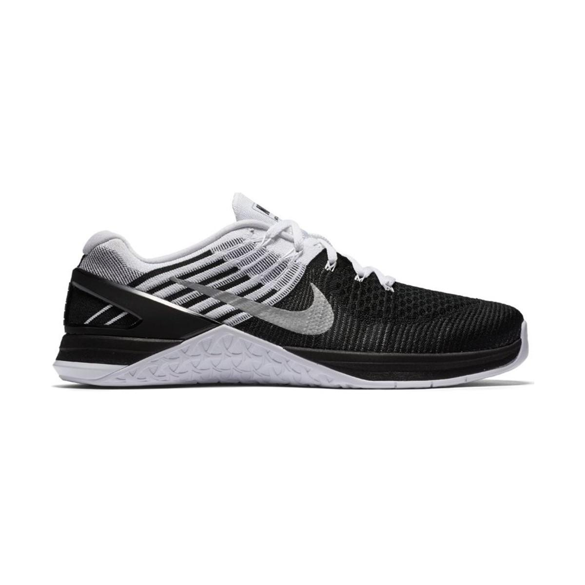 Nike Metcon Dsx Flyknit Men's Running Trainers In Black for Men