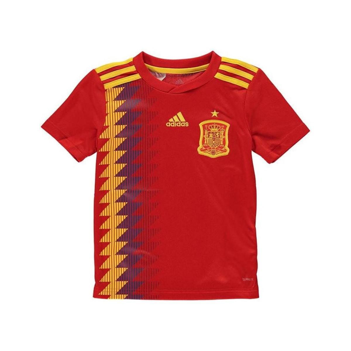 1a4341c80 Adidas 2018-19 Spain Home Shirt (a Iniesta 6) - Kids Women s T Shirt ...