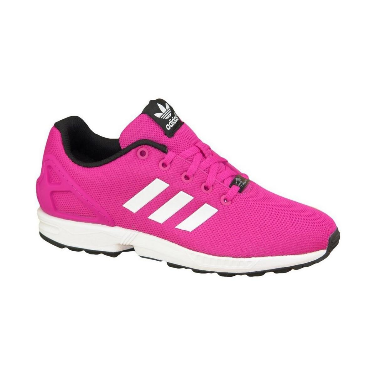 adidas Zx Flux Adv Smooth W Women's Shoes (trainers) In Pink