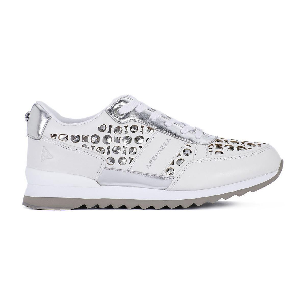 Apepazza Dauphine Women's Shoes (trainers) In White