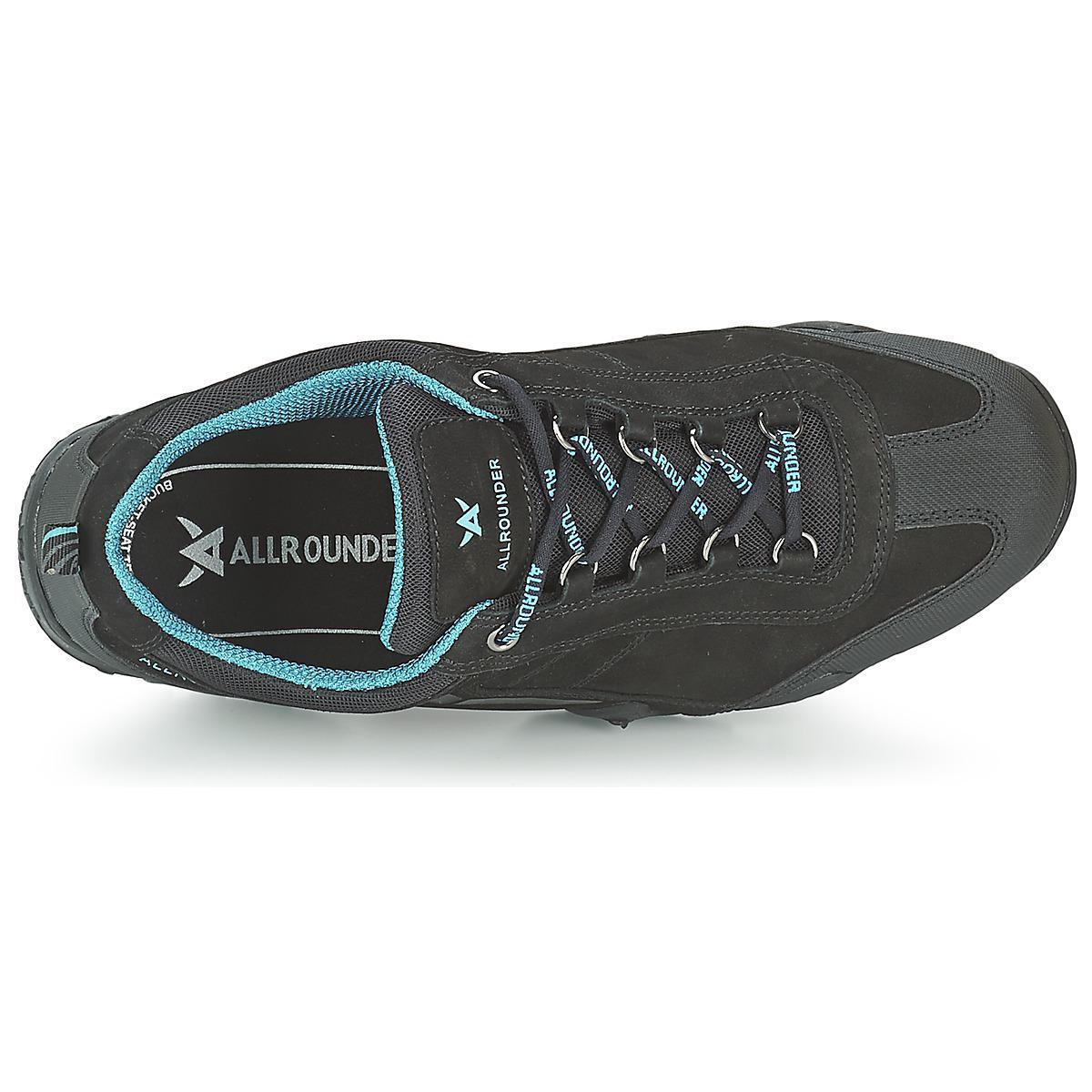 Allrounder By Mephisto Leather Fina Tek Women's Walking Boots In Grey in Grey