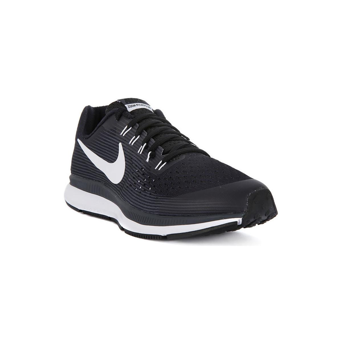 Nike Zoom Pegasus 34 Gs Women's Shoes (trainers) In Black