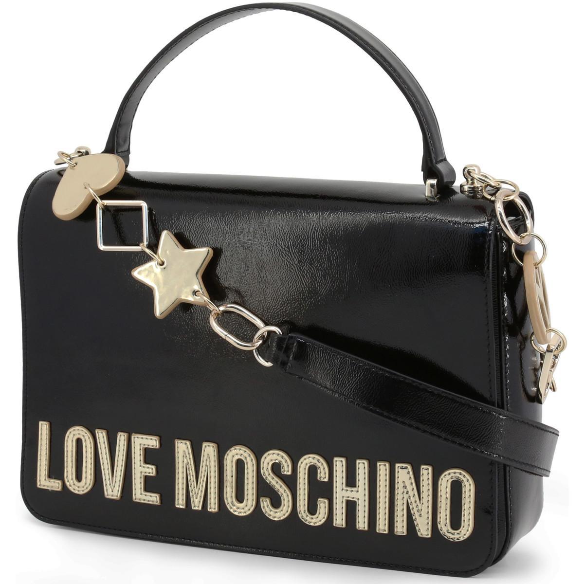 Sac Bandouliere JC4036PP18LD 0000 Love Moschino en coloris Noir