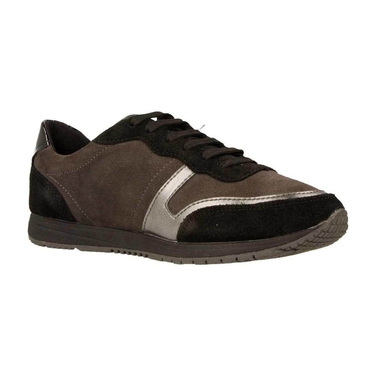 Geox D Wisdom Women's Shoes (trainers) In Brown