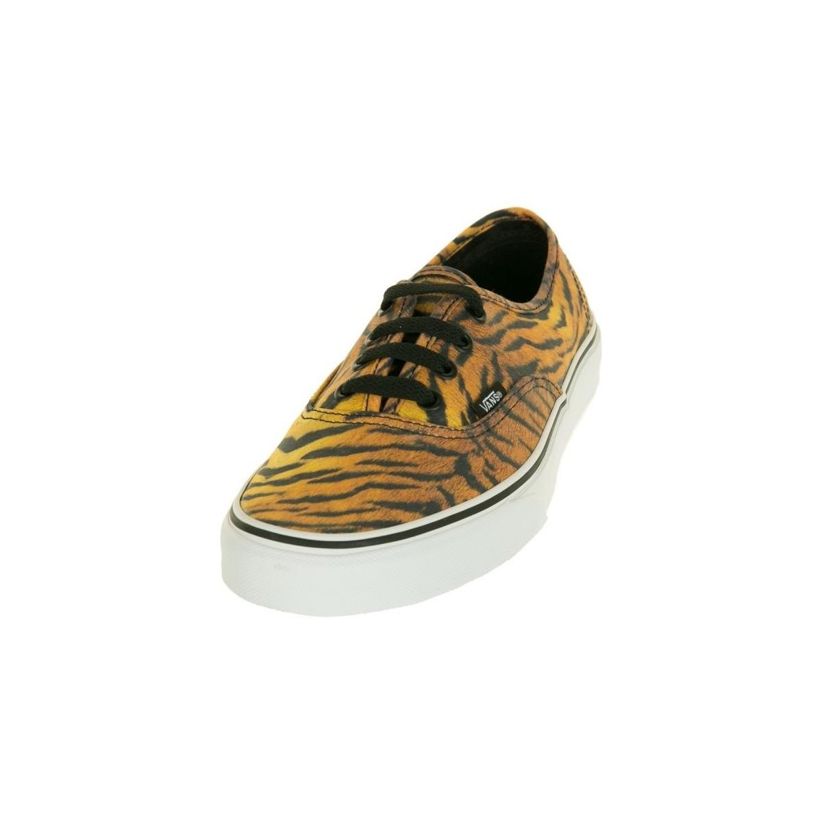 Basket Authentic Tiger - VN-0TSV8VF femmes Chaussures en jaune Vans