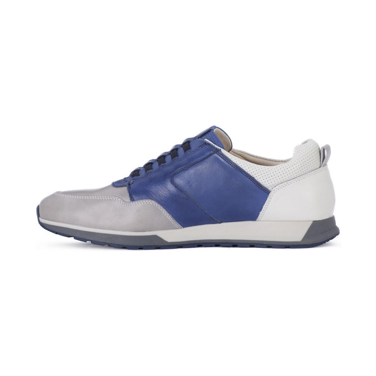 Pikolinos Lage Sneakers Cambil Slate in het Grijs voor heren