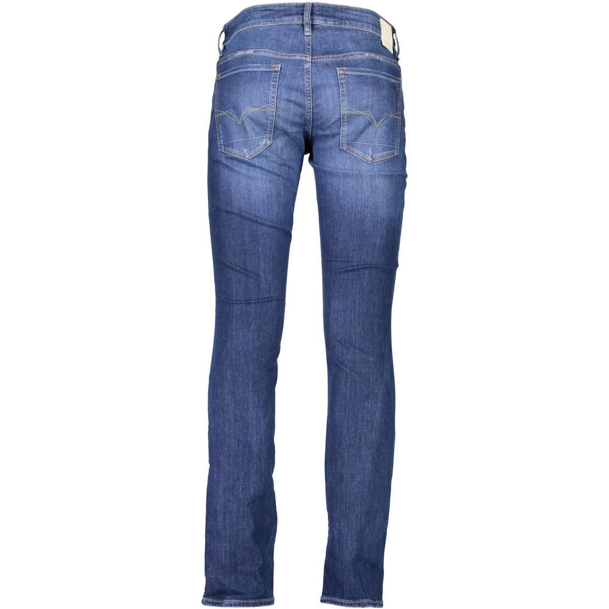 Guess Denim Straight Jeans M74an2d2rh0 in het Blauw voor heren