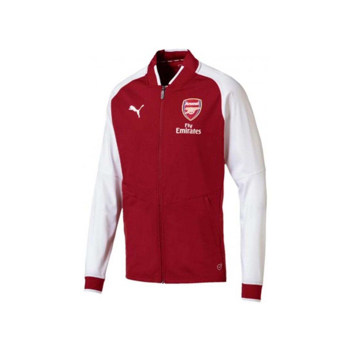 cde1812655309e PUMA Herren Afc Arsenal Stadium Training Top Dunkelrot in Red for ...