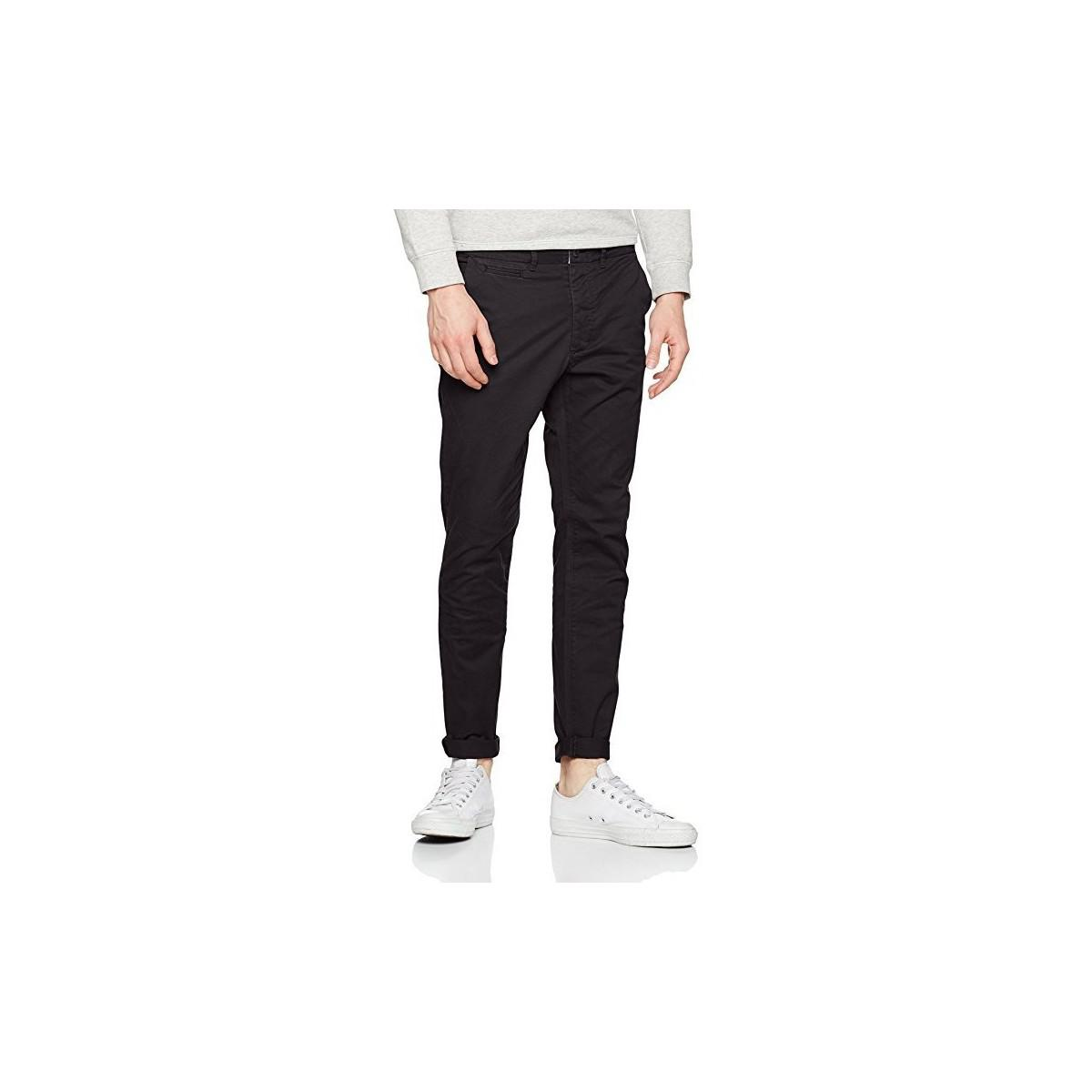 f71f568884 Jack   Jones. Pantalon Chino Jjimarco Jjenzo Black Ww420 Noos Men s Trousers  ...