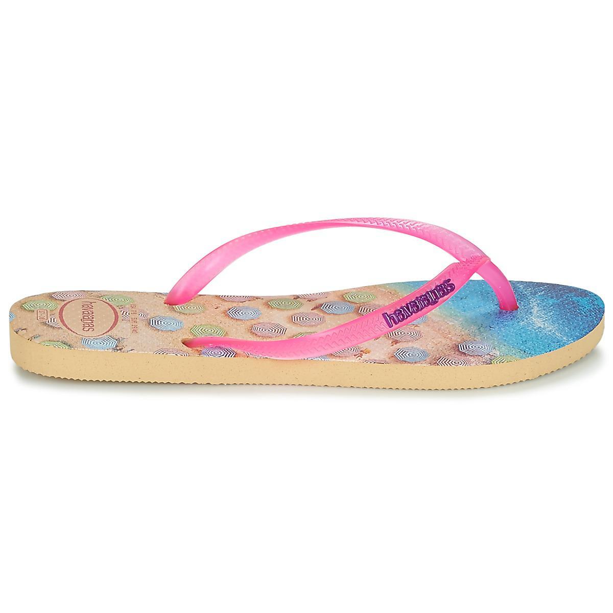 61285116090b Havaianas - Pink Slim Paisage Women s Flip Flops   Sandals (shoes) In  Multicolour -. View fullscreen