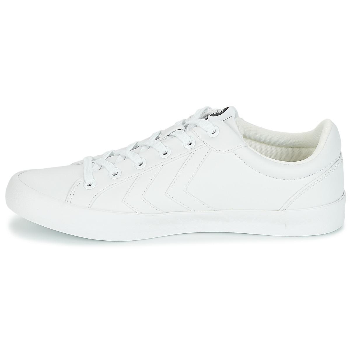 Hummel Deuce Court Tonal Men's Shoes (trainers) In White for Men