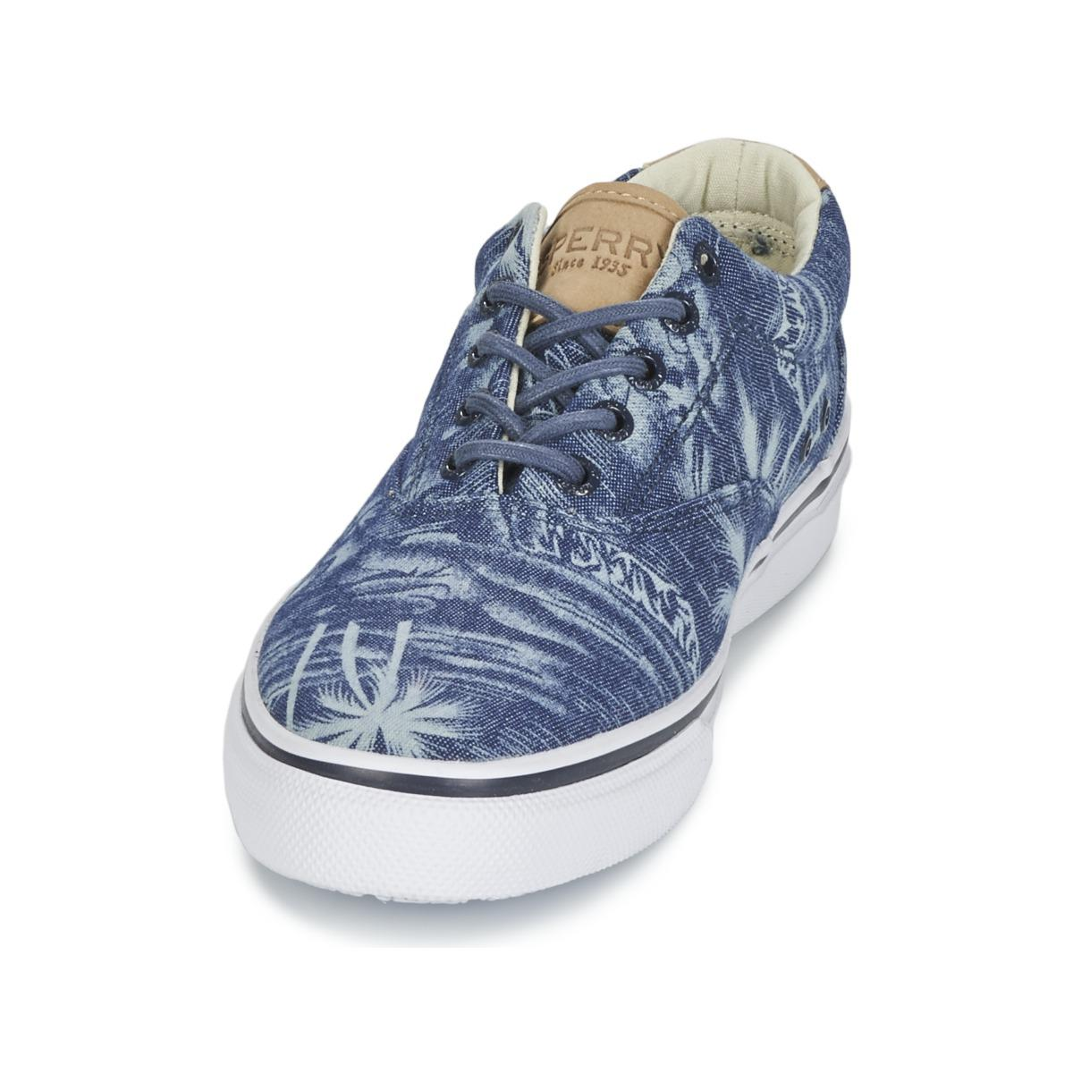 Sperry Top-Sider Striper Cvo Chambray Men's Shoes (trainers) In Blue for Men