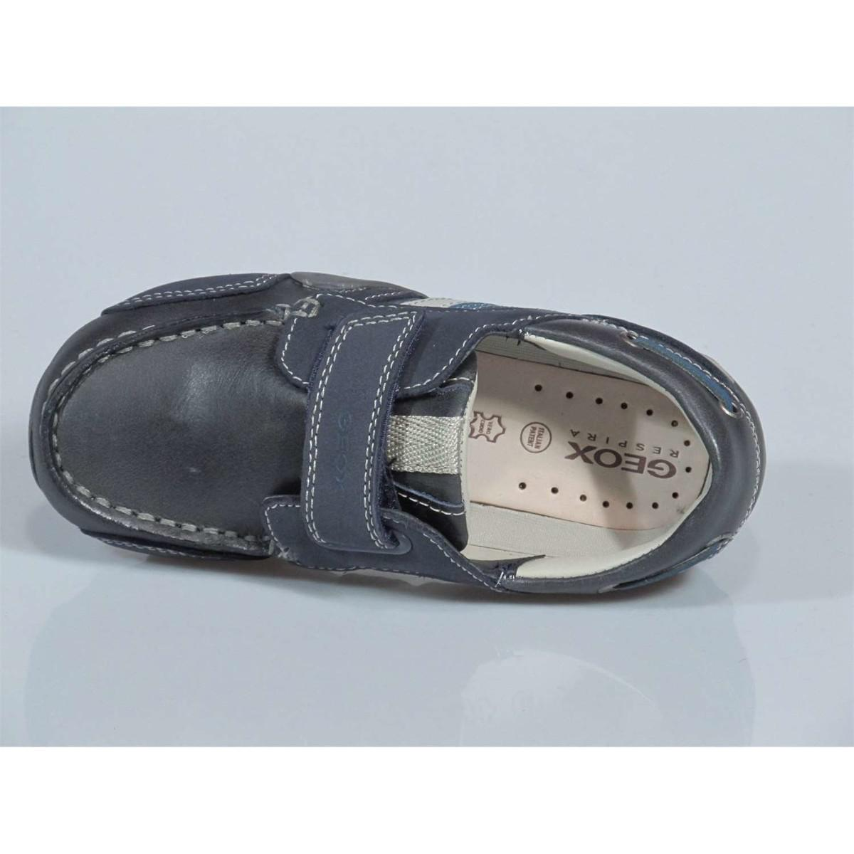 Geox B3216e 04332 C0700 Mocassins Kid Navy/avio Men's Shoes (trainers) In Blue for Men