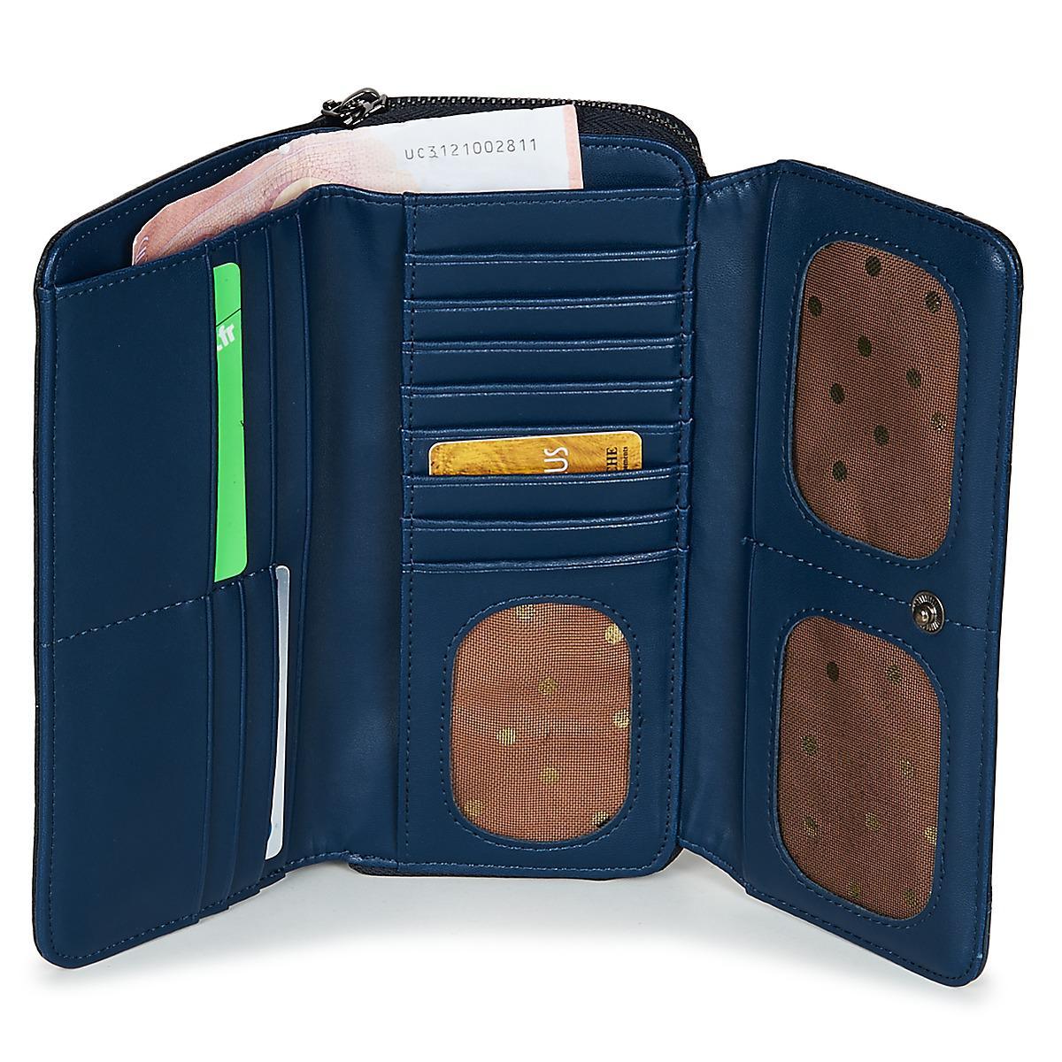 efa82449270 Desigual Mone Priya Maria Women's Purse Wallet In Blue for men