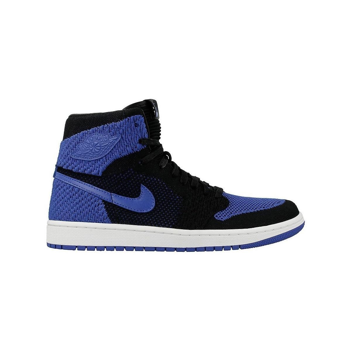 Nike Air Jordan 1 Retro Hi Fl Men's Shoes (high-top Trainers) In Black for Men