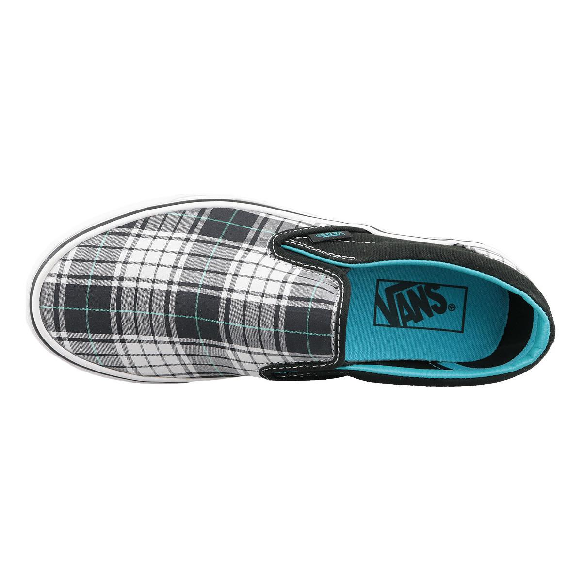 Classic Slip-On VN0LYFL6W Chaussures Vans en coloris Bleu
